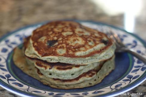 9.14. Banana Blueberry Pancakes. pancakes 1